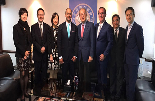 KP Chair meets with industry representatives in Hong Kong