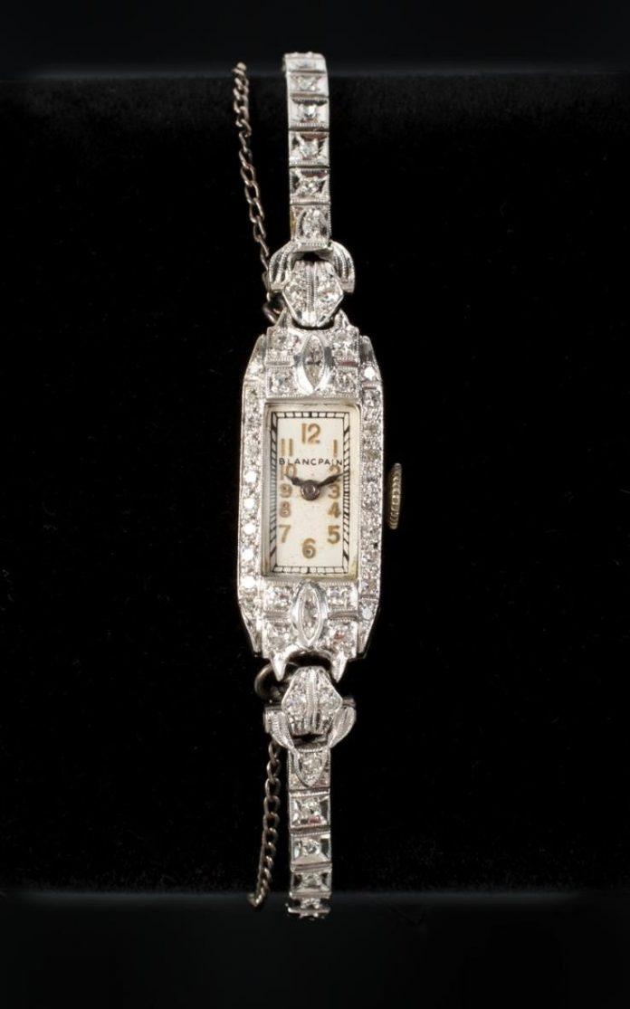 Marilyn Monroe's Platinum & Diamond Watch