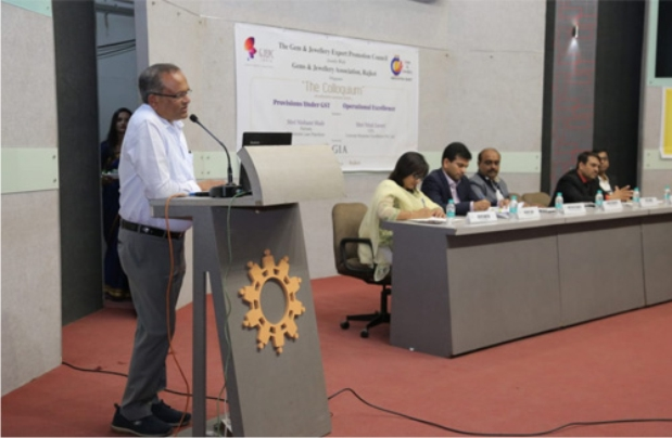 GJEPC Hosts Educational Seminar and 'Navratna Identification' Training Programme in Rajkot