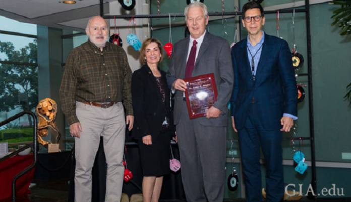 Dr. James Shigley Recognized with GIA's Highest Honor