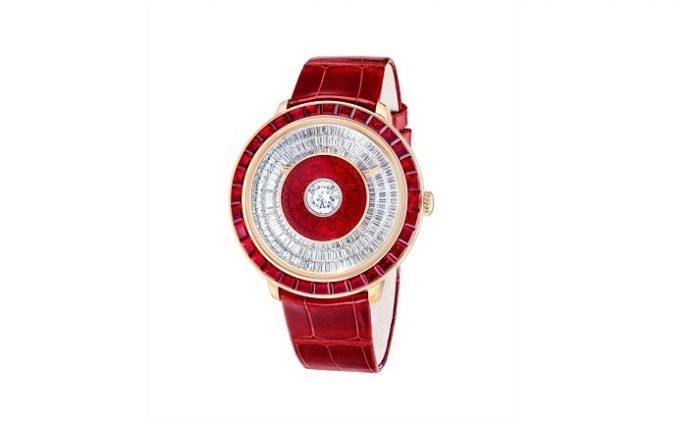 Fabergé Presents the Dalliance GemAddict Timepiece