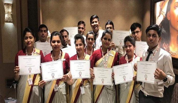 IGI organizes an extensive training program for Patel Jewellers at Mehsana
