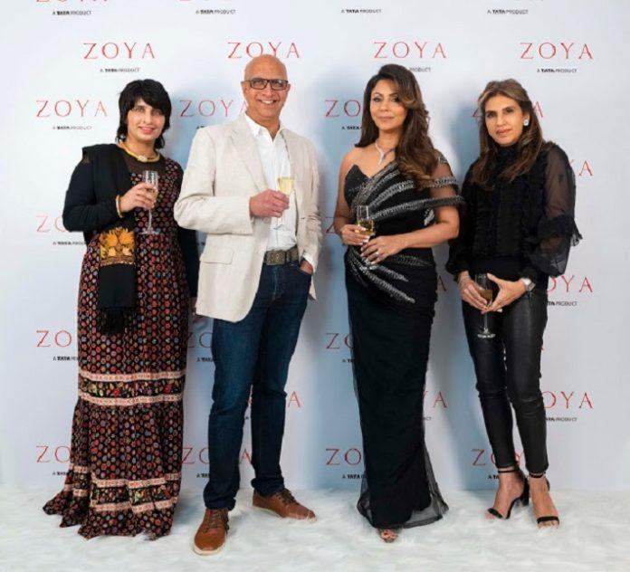 Sangeeta Deewan , C K Venkatraman , Gauri Khan and Monisha Jaisingh at Zoya South EX Store