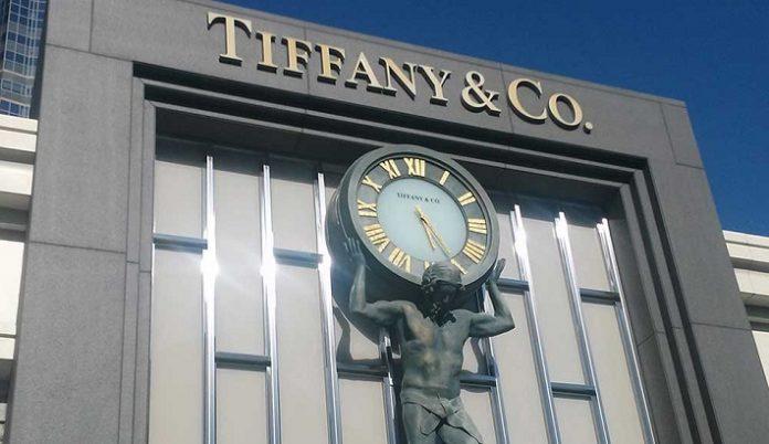 Tiffany's holiday sales
