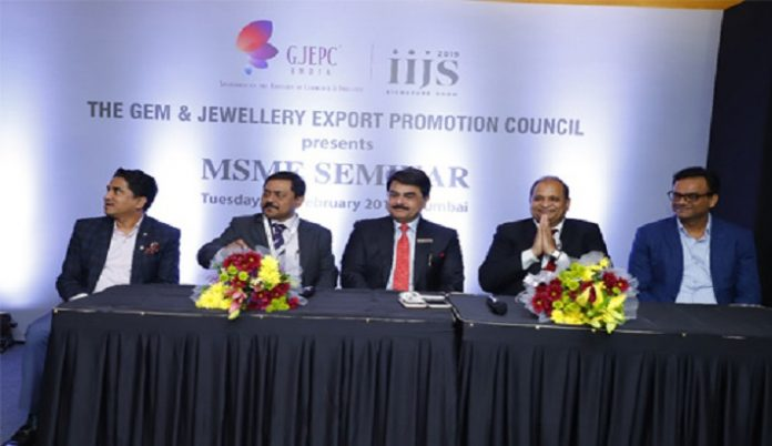 GJEPC's MSME Seminar at Signature IIJS
