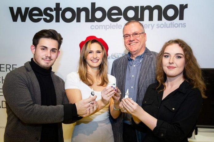 Weston beamor announce live winners at j&w 2019