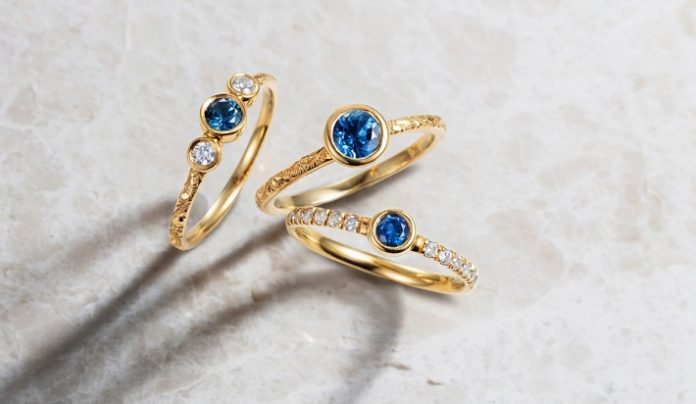 Arabel Lebrusan introduces goddess inspired engagement ring line