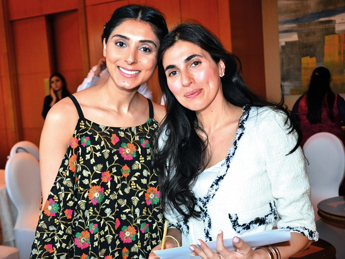Pernia Qureshi, ace stylist, and Prerna Malhotra, leading blogger