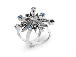 Bespoke jeweller marks moon landing anniversary with stellar design