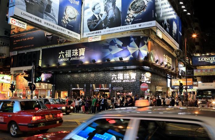 HK jewellery sales weaken in April