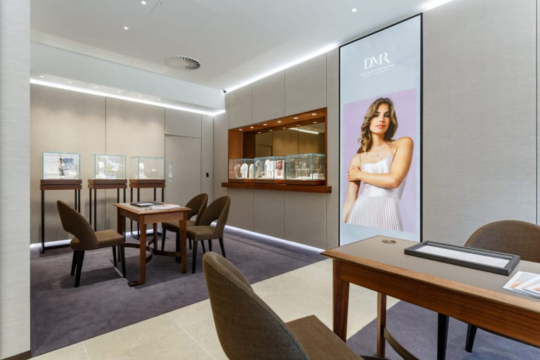 The Jewellery Area Of The New Manchester Boutique