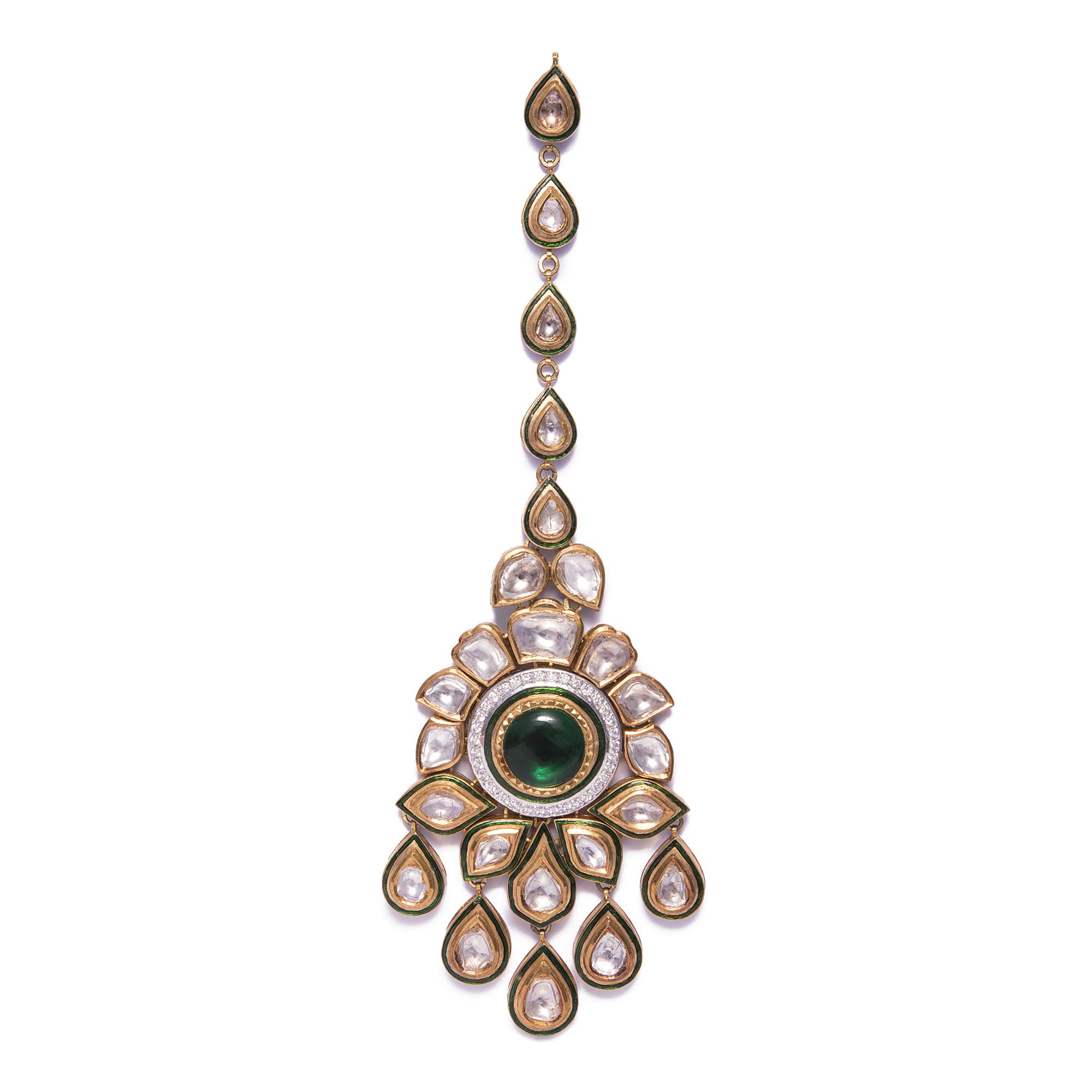 Mughals Polki traditional jewellery