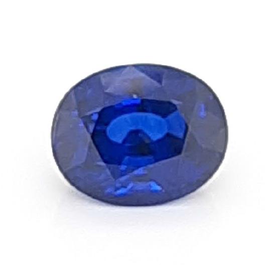 Blue sapphire oval 15.09ct from Sri Lanka