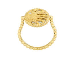 dior gold ring