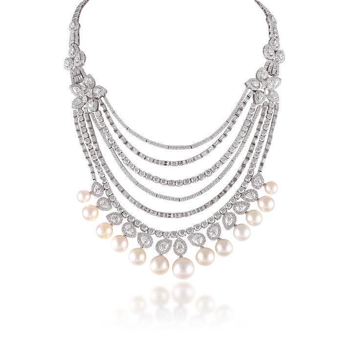 Diamond Neckpiece