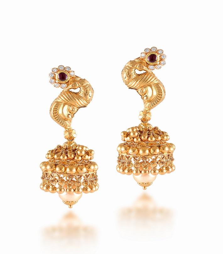 Gold Earrings New