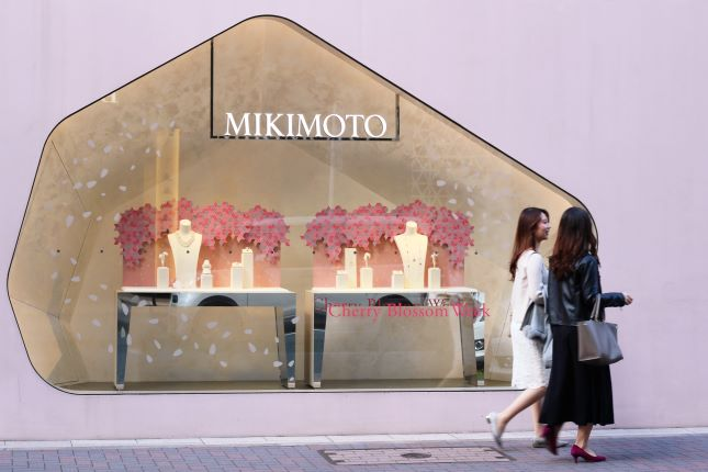 Mikimoto Singled out over Human Rights