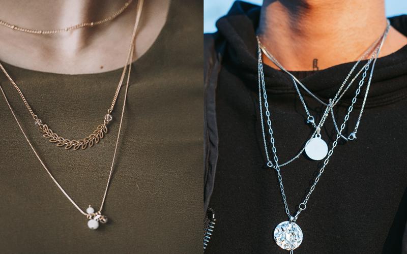 pieces every girl own layered necklace juan burgos diogo brandao