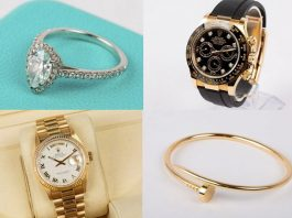 British Police Auction Watches and Jewelry Seized from Criminals