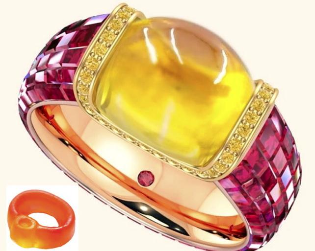 The $35,000 Haribo Engagement Ring