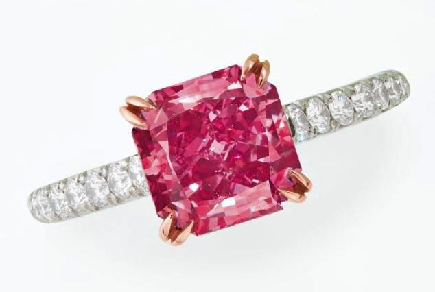 Fancy Pink Diamond Fetches $3.5m at Christie's Auction