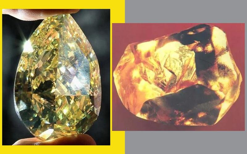 the Cora Sun Drop Diamond