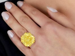 73-carat Yellow Diamond Leads Roaring Twenties Sale