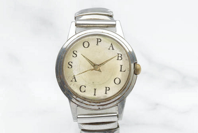 Picasso's Personalized Watch to be Sold