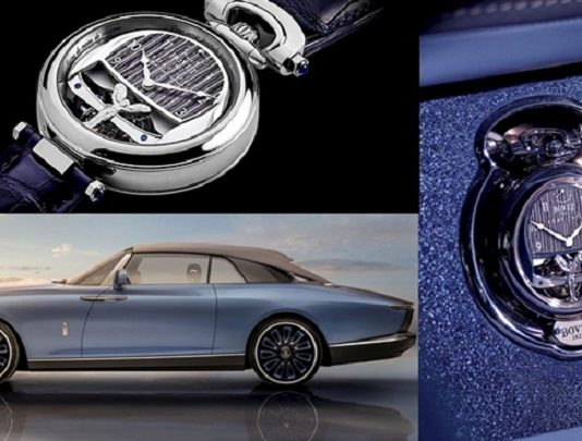 Bovet 1822 Watches Double as Dashboard Clocks for One-Off Rolls-Royce