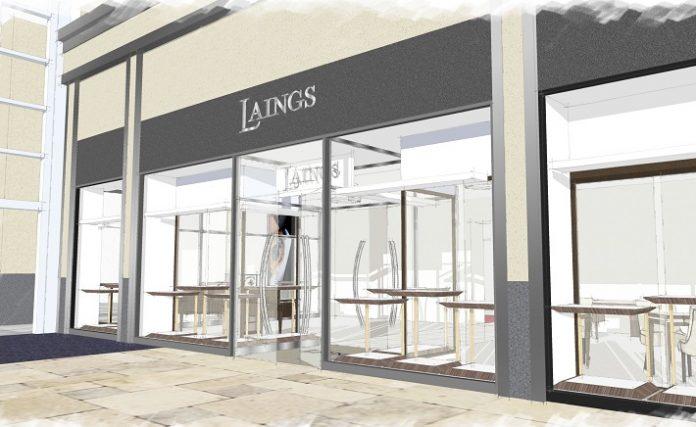 Laings new Cardiff showroom design