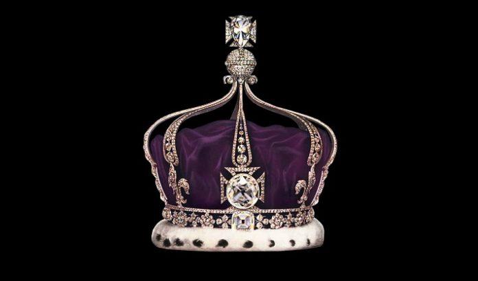 the Koh-i-Noor diamond loose, and set in Queen Elizabeth's crown