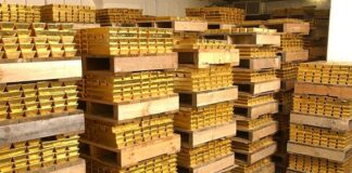 Record Gold Stocks Held In London Vaults: LBMA