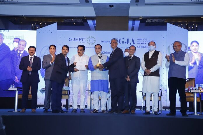 BVC Wins The Coveted 'Best Customs Broker' of The Year Award by GJEPC