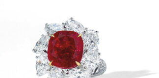 Pigeon's Blood Ruby Ring could sell for $4.5m